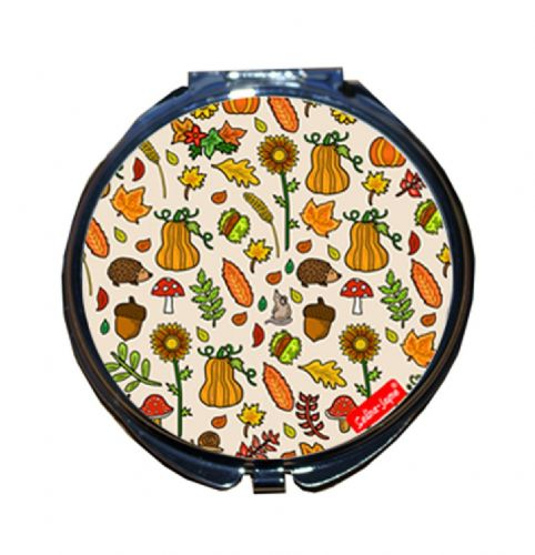 Selina-Jayne Autumn Meadow Limited Edition Designer Compact Mirror